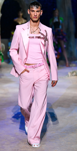 On the Runway: Versace